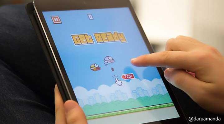Tips Sukses Main Flappy Bird Langsung DariPenciptanya